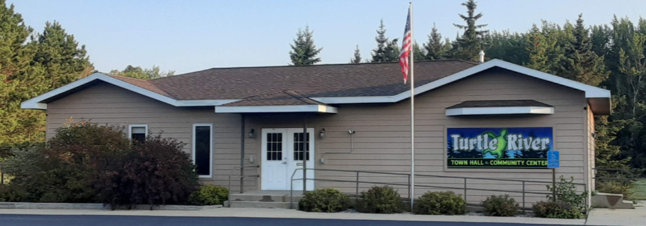 Turtle River Township town hall and community center building