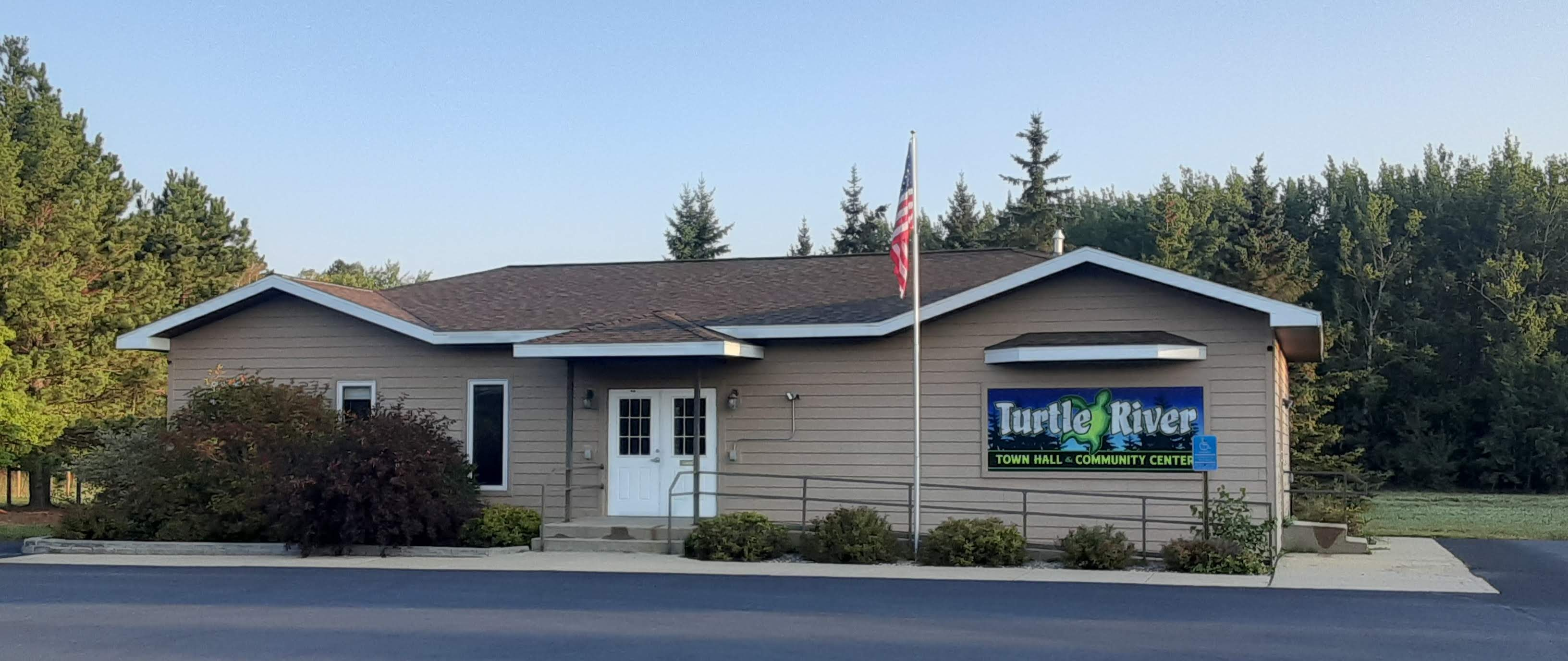 Turtle River Township town hall and community center