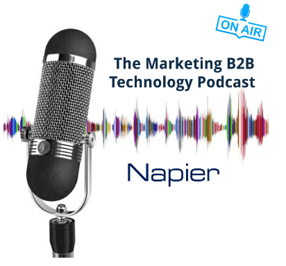 On Napier's Marketing B2B Technology Podcast