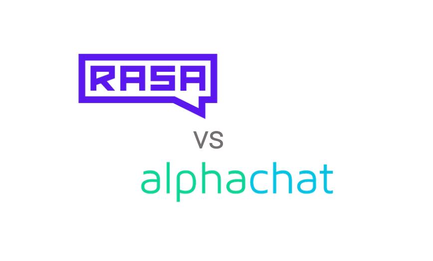 Rasa vs alphachat.ai - Conversational AI Shootout Comparison!