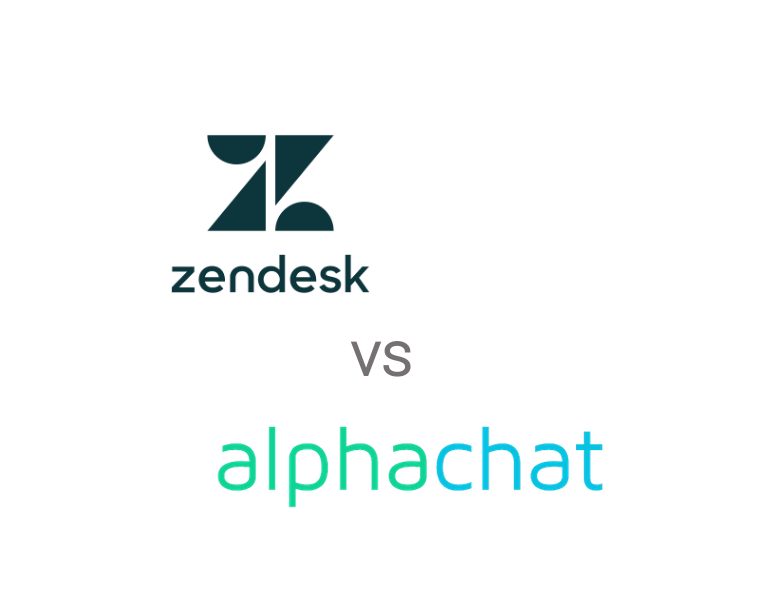 Zendesk Answer Bot vs alphachat.ai - Conversational AI Chatbot Software Comparison