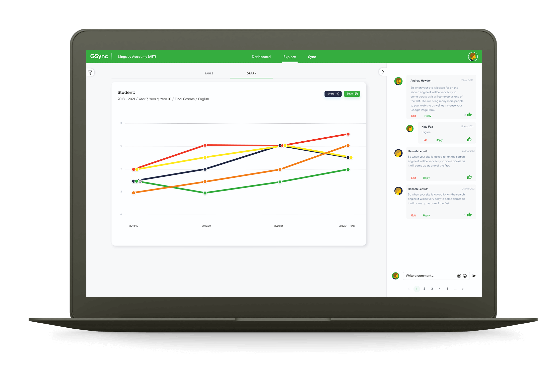 GSync School App