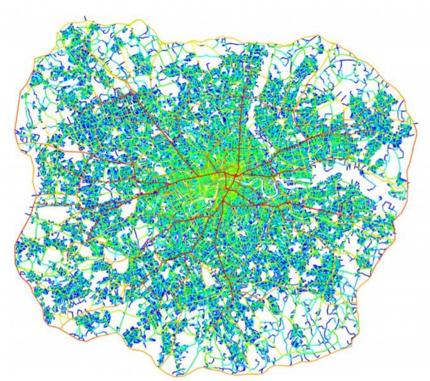 Space syntax as urban design tool