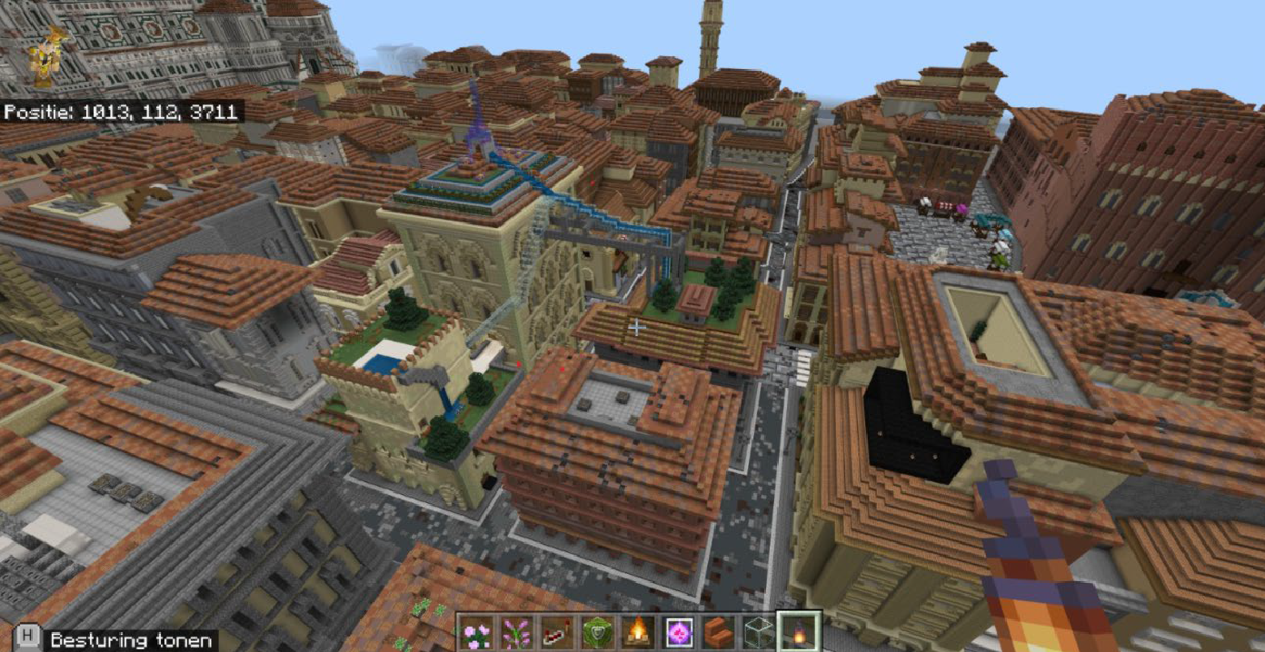 What if Vitruvius played Minecraft? First notes on gaming architecture as experimental design