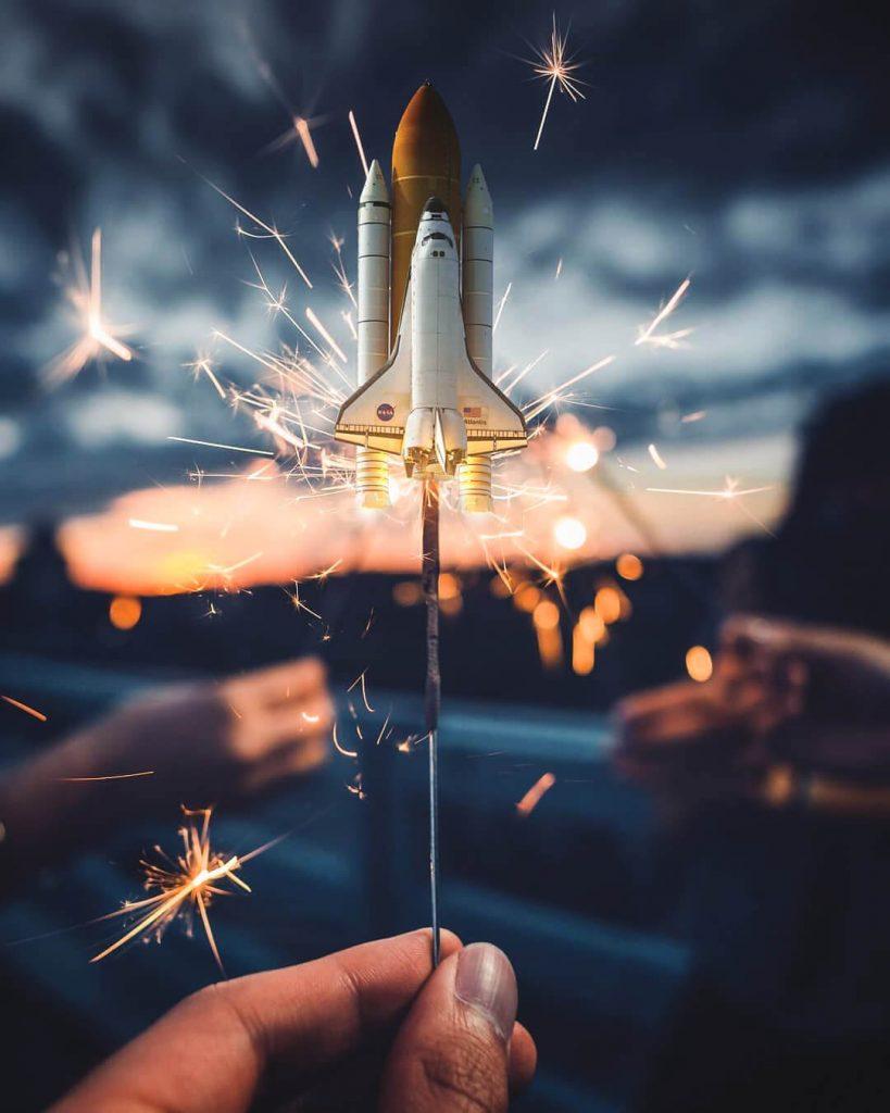 fusée réussite entrepreneur