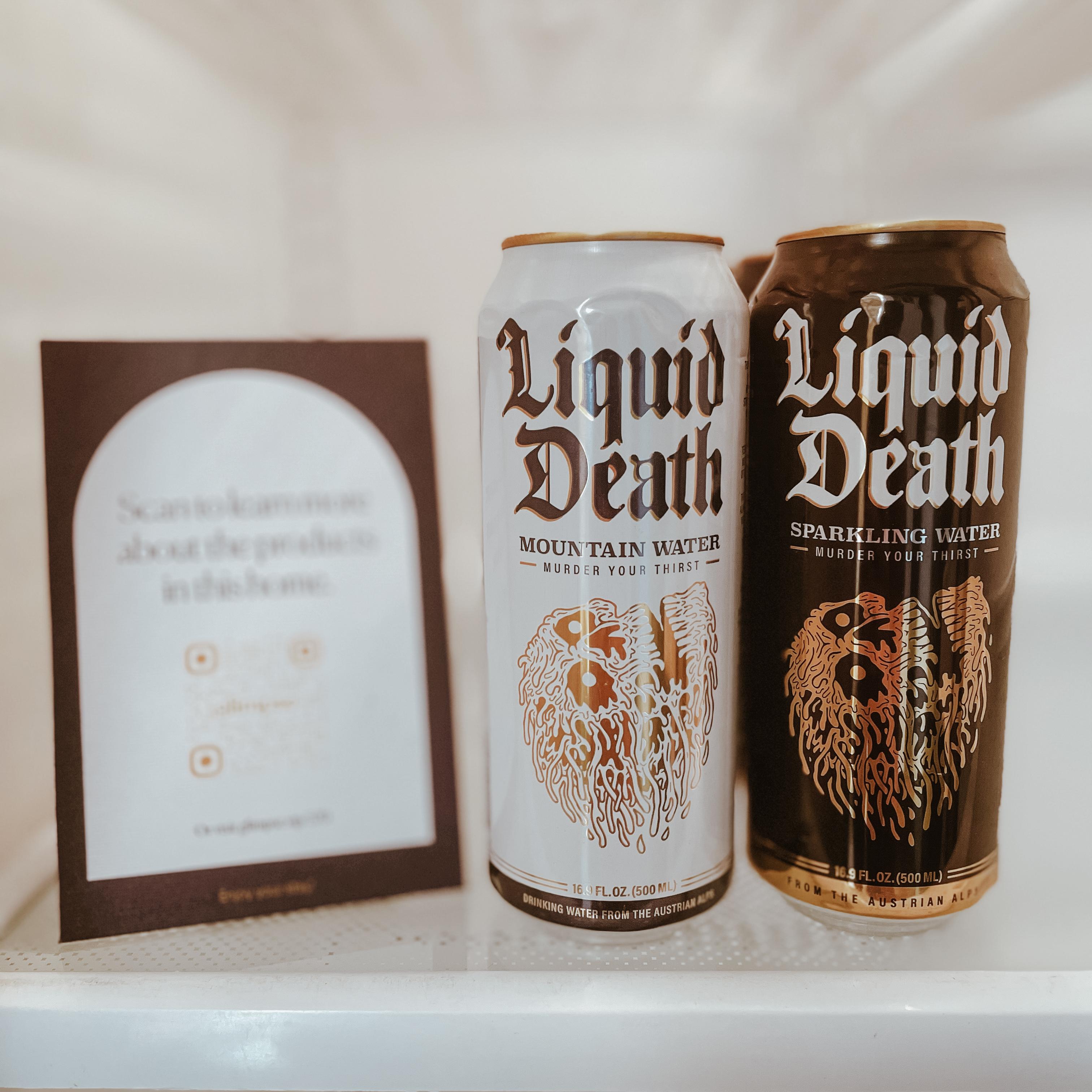 Liquid Death Product