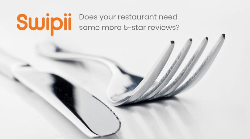 Blog Header Image Increase Restaurant Ratings|Five Stars Increase Restaurant Ratings||Plate of food to increase restaurant ratings.|Getting reviews can increase restaurant ratings.