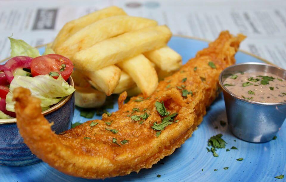 CATCH Fish and Chips Glasgow Blog Header|Catch Fish and Chips Glasgow Logo|CATCH Fish and Chips Glasgow Dinner