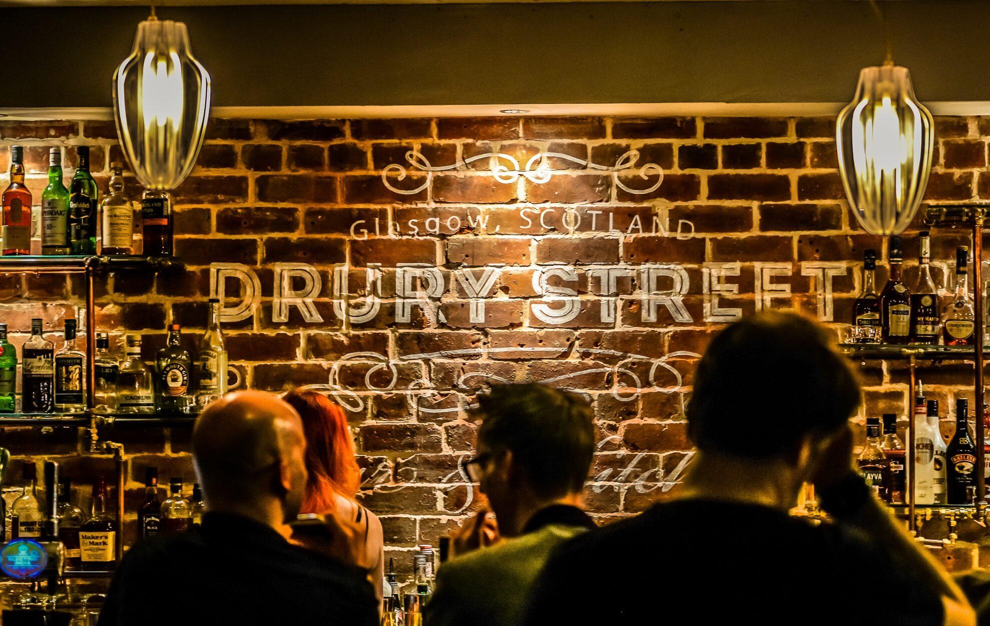 Drury Street Bar and Kitchen Glasgow Blog Header