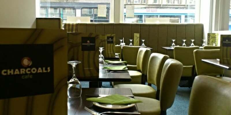 Charcoals Cafe Glasgow Blog Header Image|Charcoals Cafe Glasgow Food 3|Charcoals Cafe Glasgow Food 2|