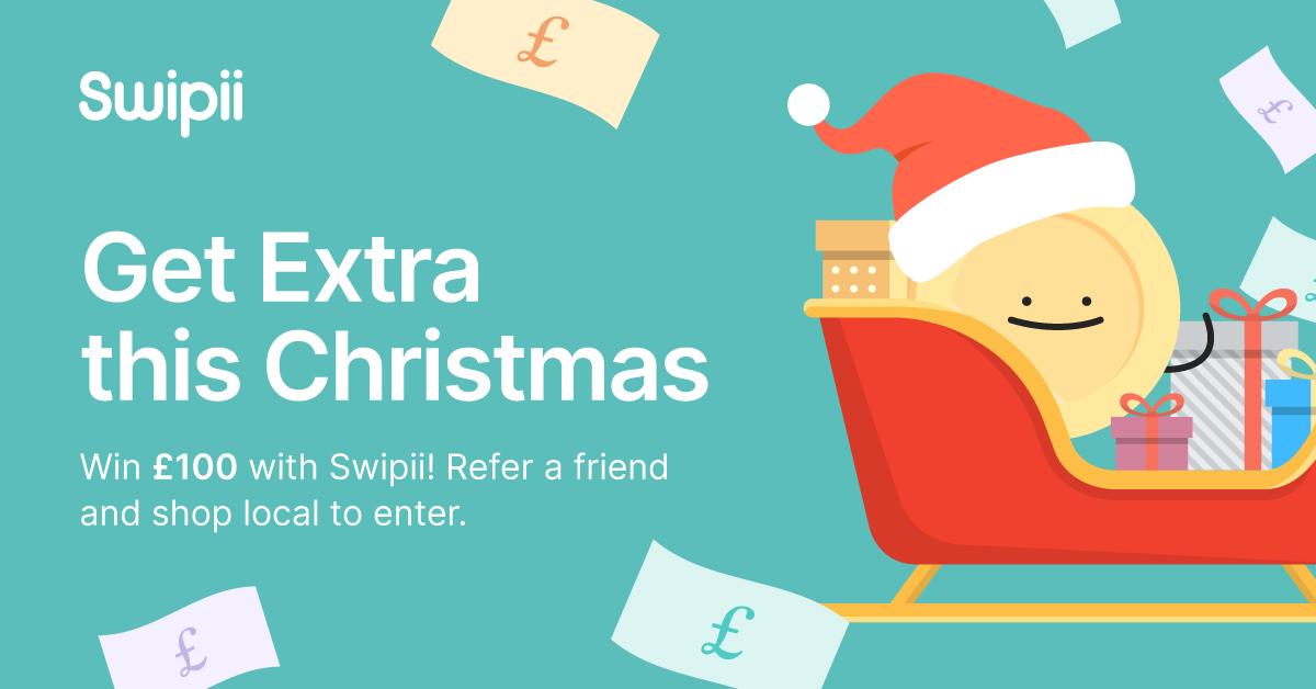 swipii cashback app christmas campaign image