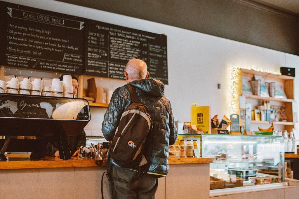 Coffee shop customer relationships