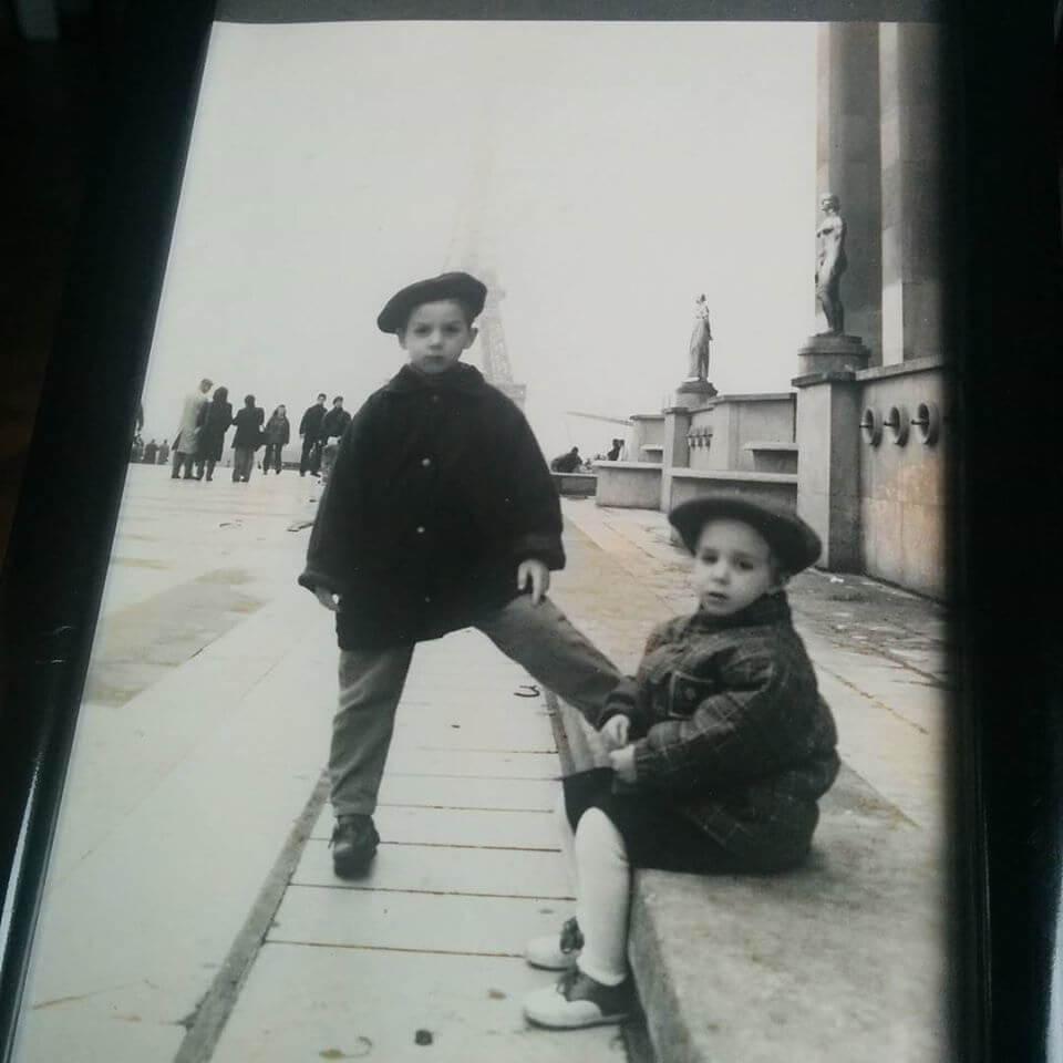 Louis Schena CEO childhood picture