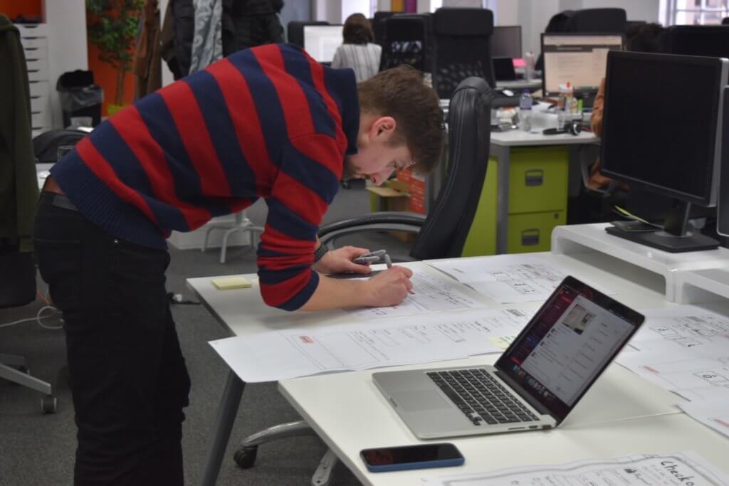 Louis Schena CEO working on something