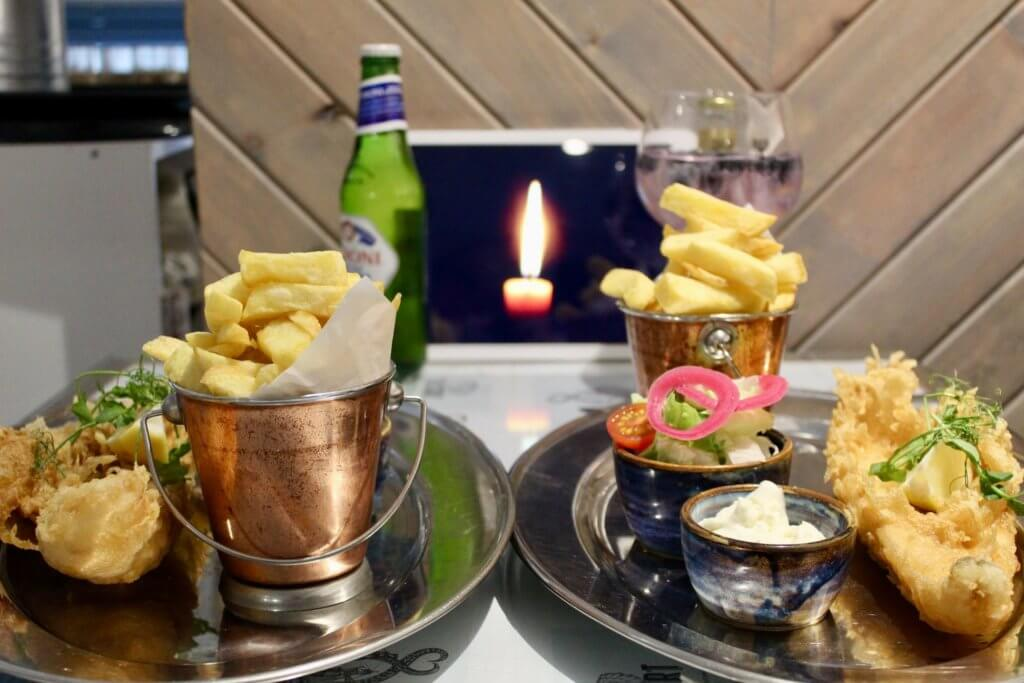 CATCH Fish and Chips Glasgow Dinner