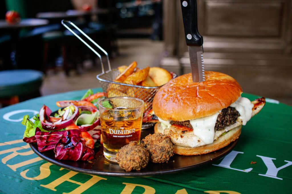 Connolly's Irish Bar Glasgow Dubliner Haggis & Chicken
