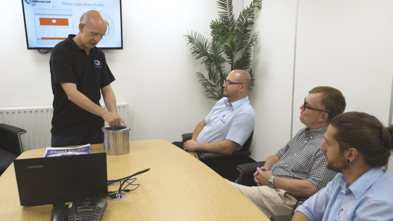Theory training for a group of professional engineers