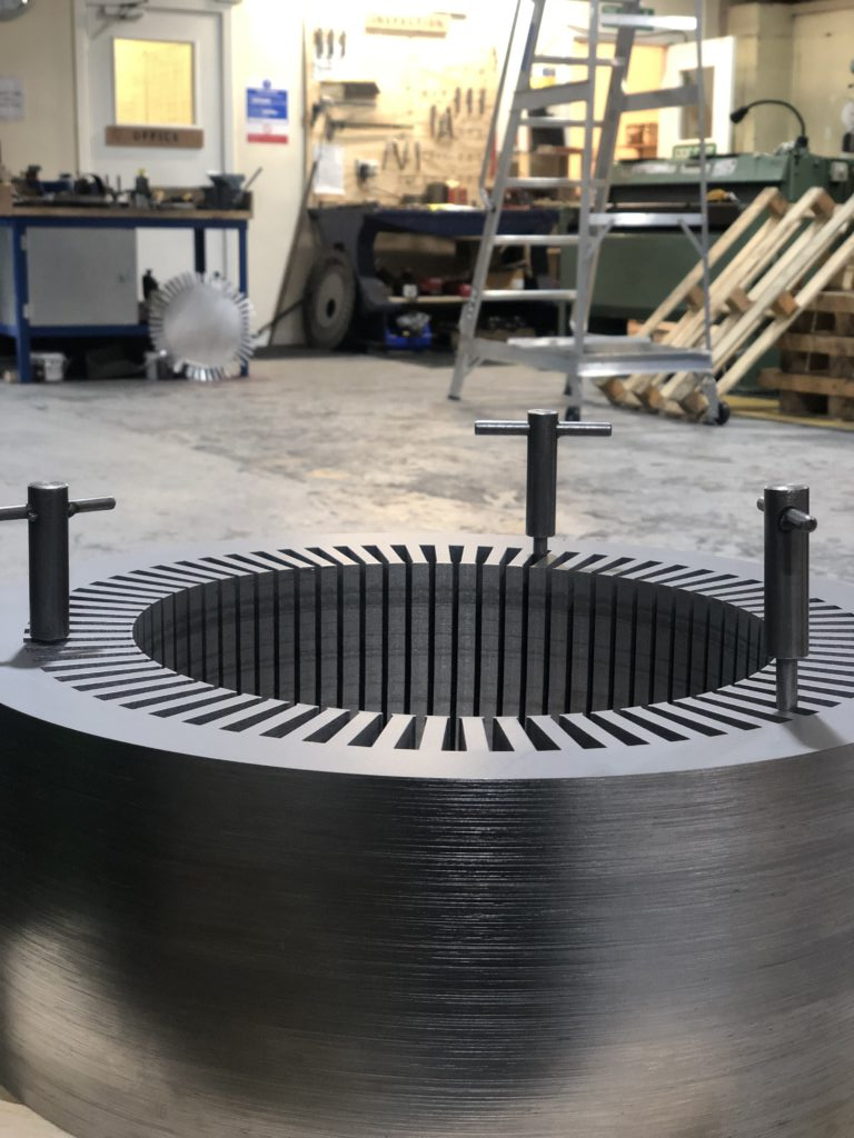 Electrical steel laminations