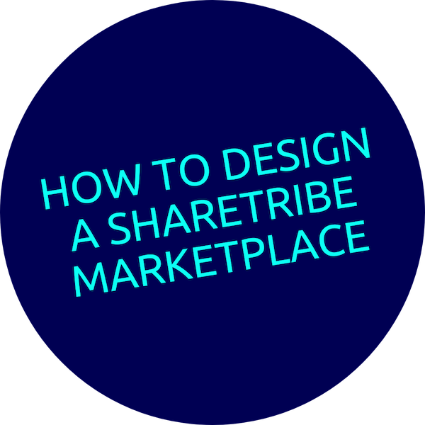 Text - How to Design a Sharetribe Marketplace