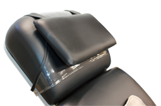 Deluxe pillow adds additional cushion and lift for patient comfort