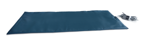 Eighteen by thirty six inch warming pad help keep patients comfortable
