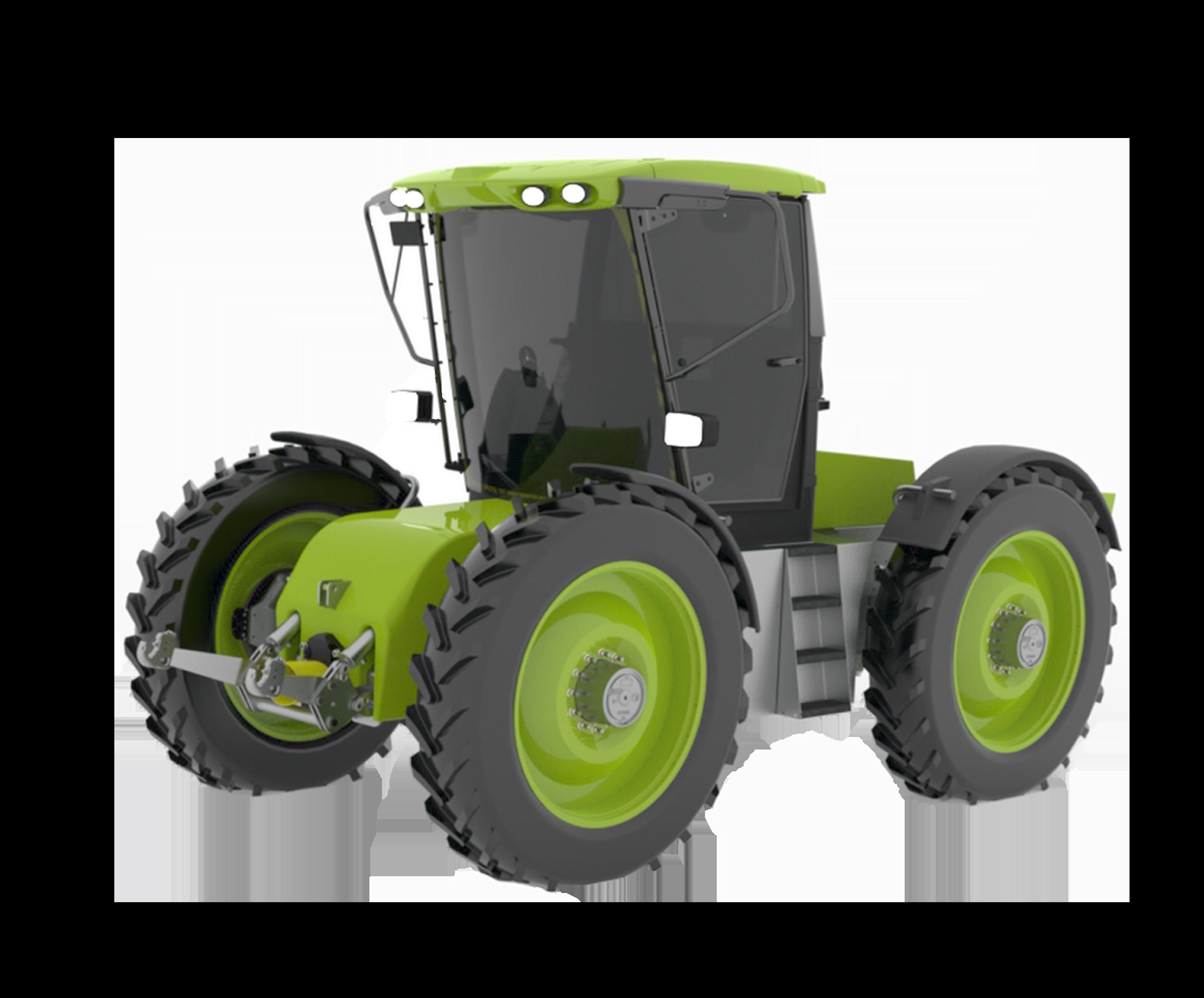 h2Trac EOX elektrische hybride tractor