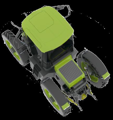 h2Trac EOX elektrische hybride tractor 2020