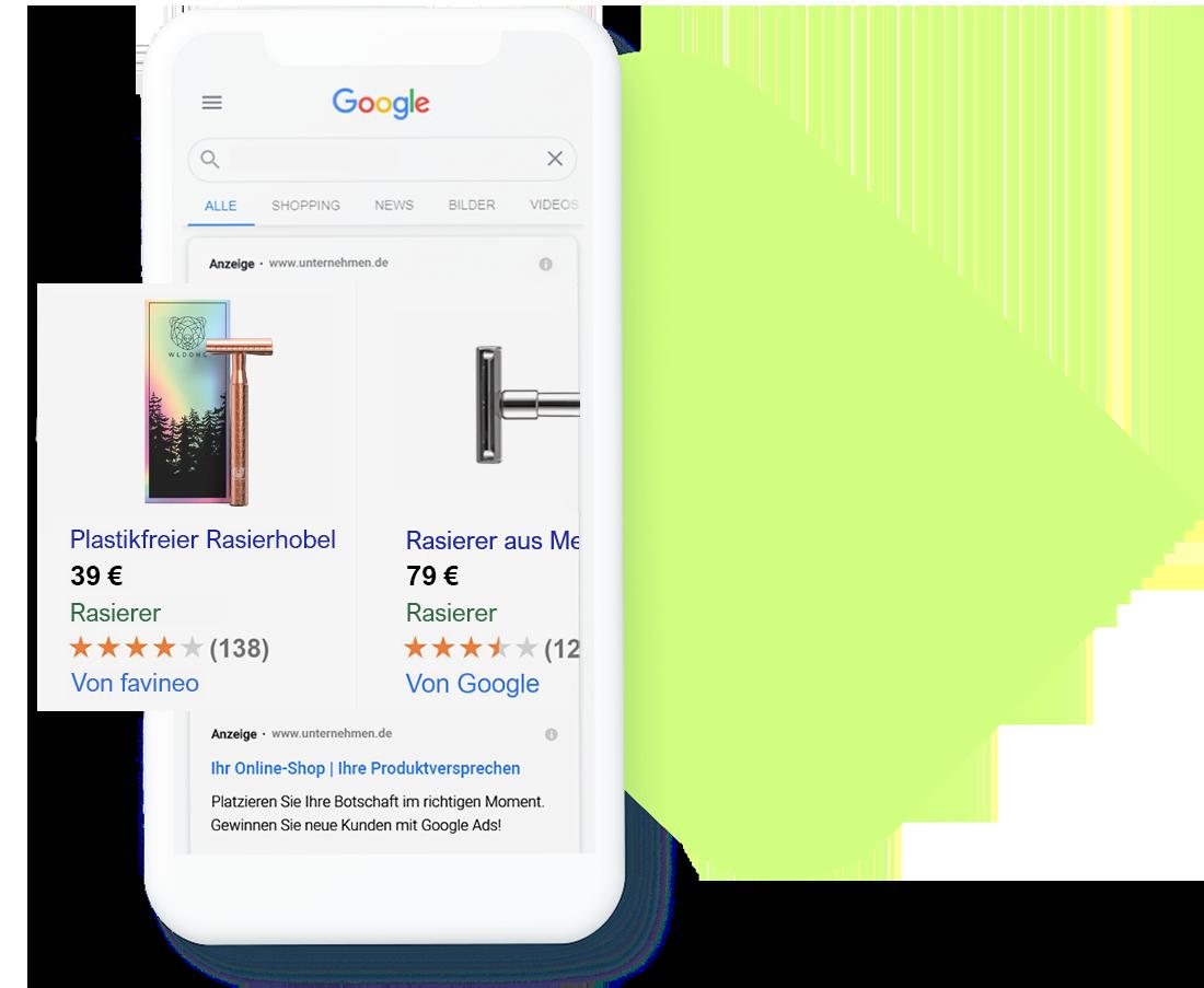 Google Ads Agentur für Shopify