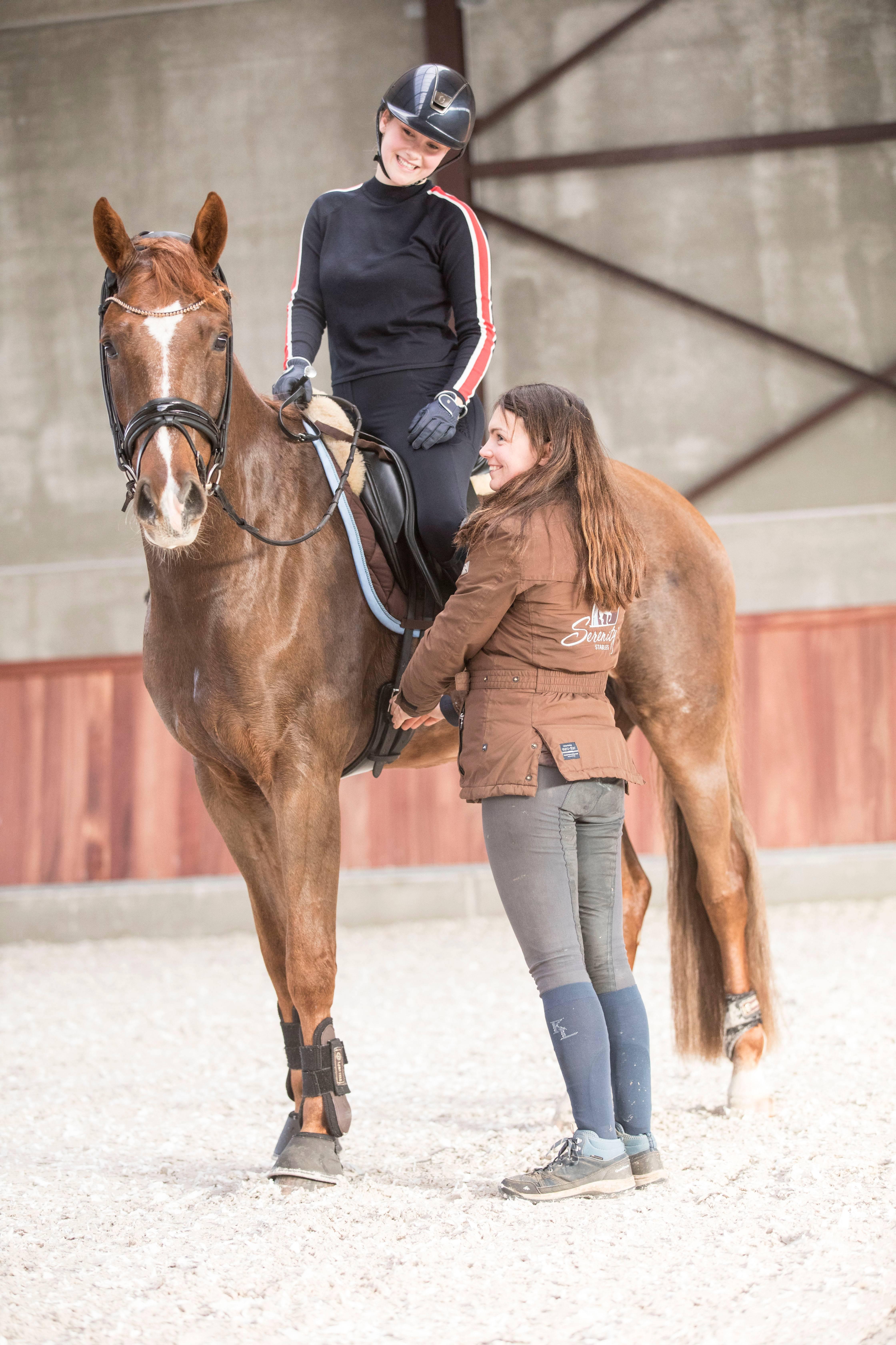 Céline Schelstraete en haar klant