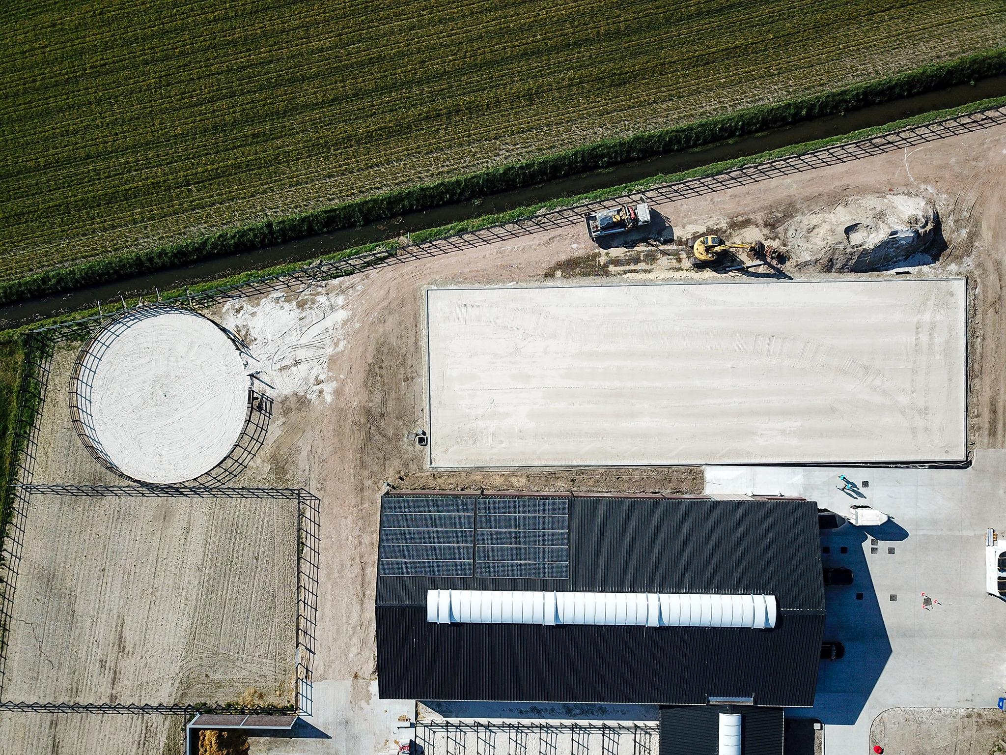 Foto uit de lucht van Serenity Stables