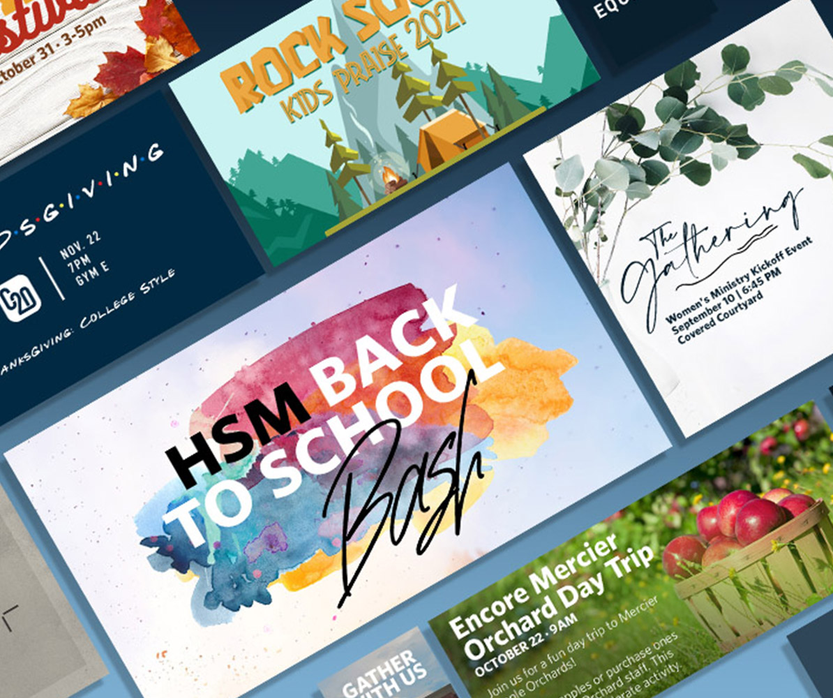 Events & Promotion Design