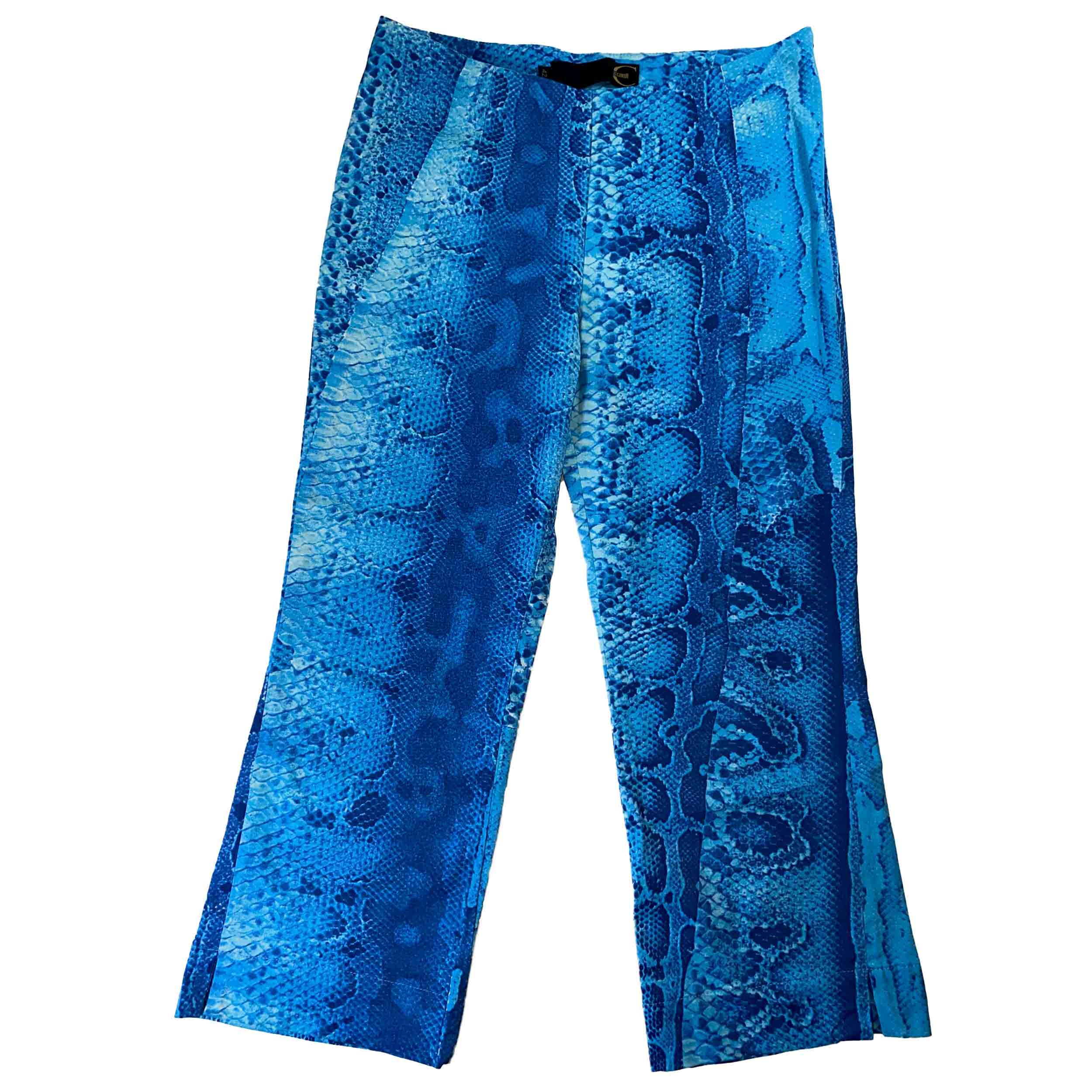 Vintage Roberto Cavalli Capri Snakeskin Pants