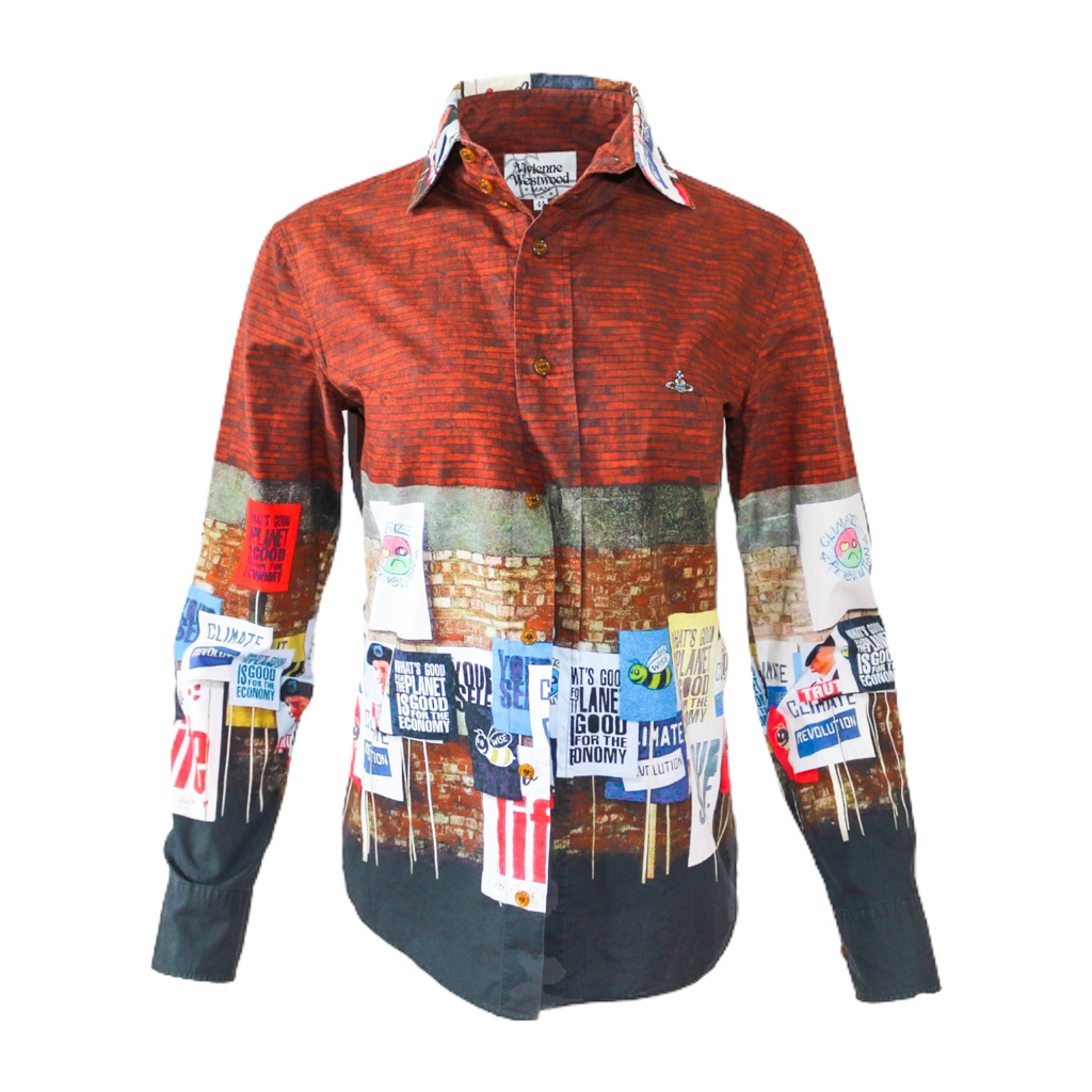 Vivienne Westwood Climate Revolution Shirt