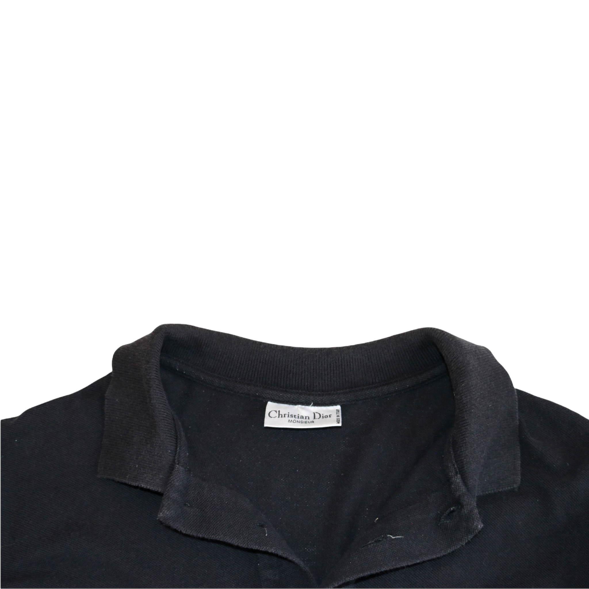 Christian Dior Black Polo