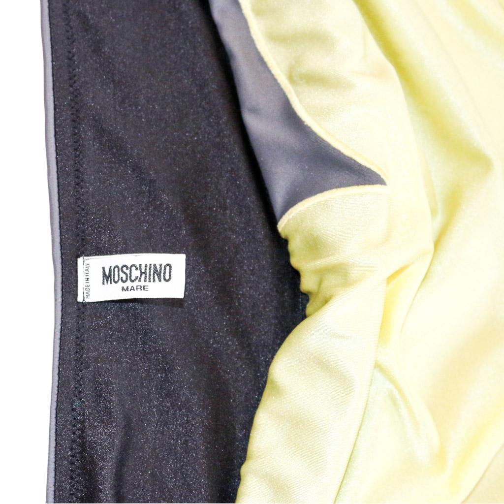 Moschino Logo Heart Tube Top