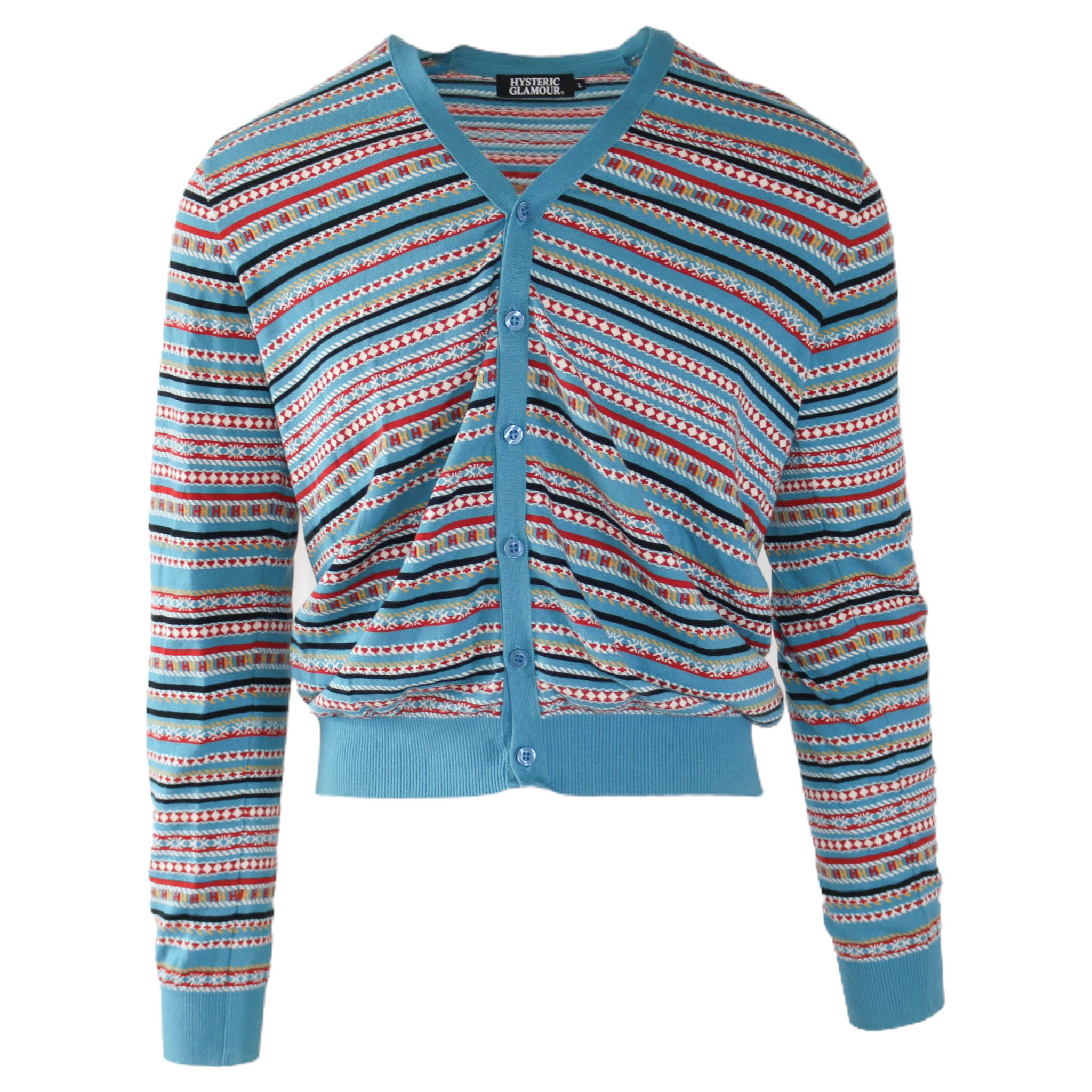 Hysteric Glamour Blue Crush Sweater