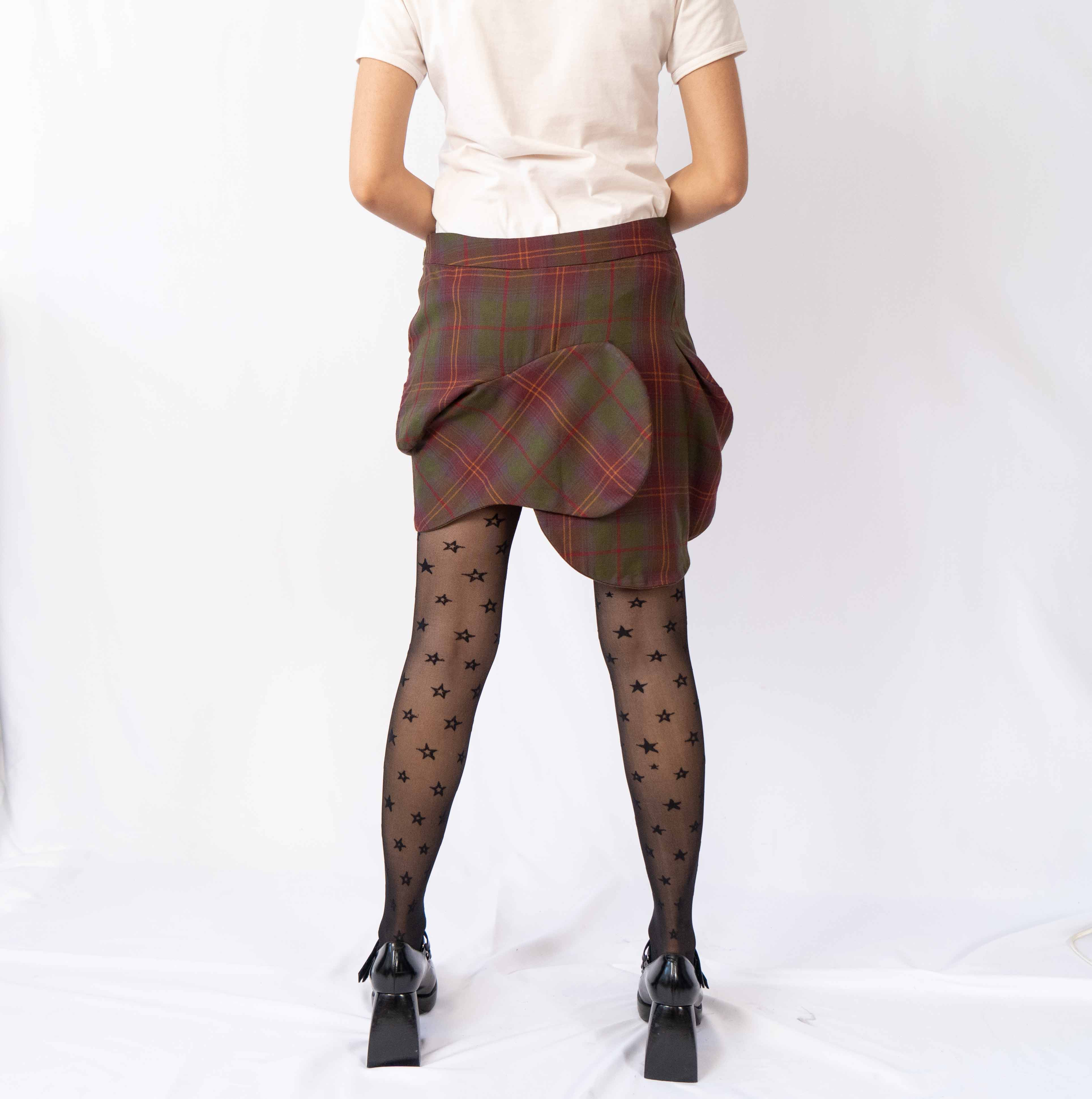 Your favorite plaid skirt just got a major upgrade. This beautiful can't get more existing.