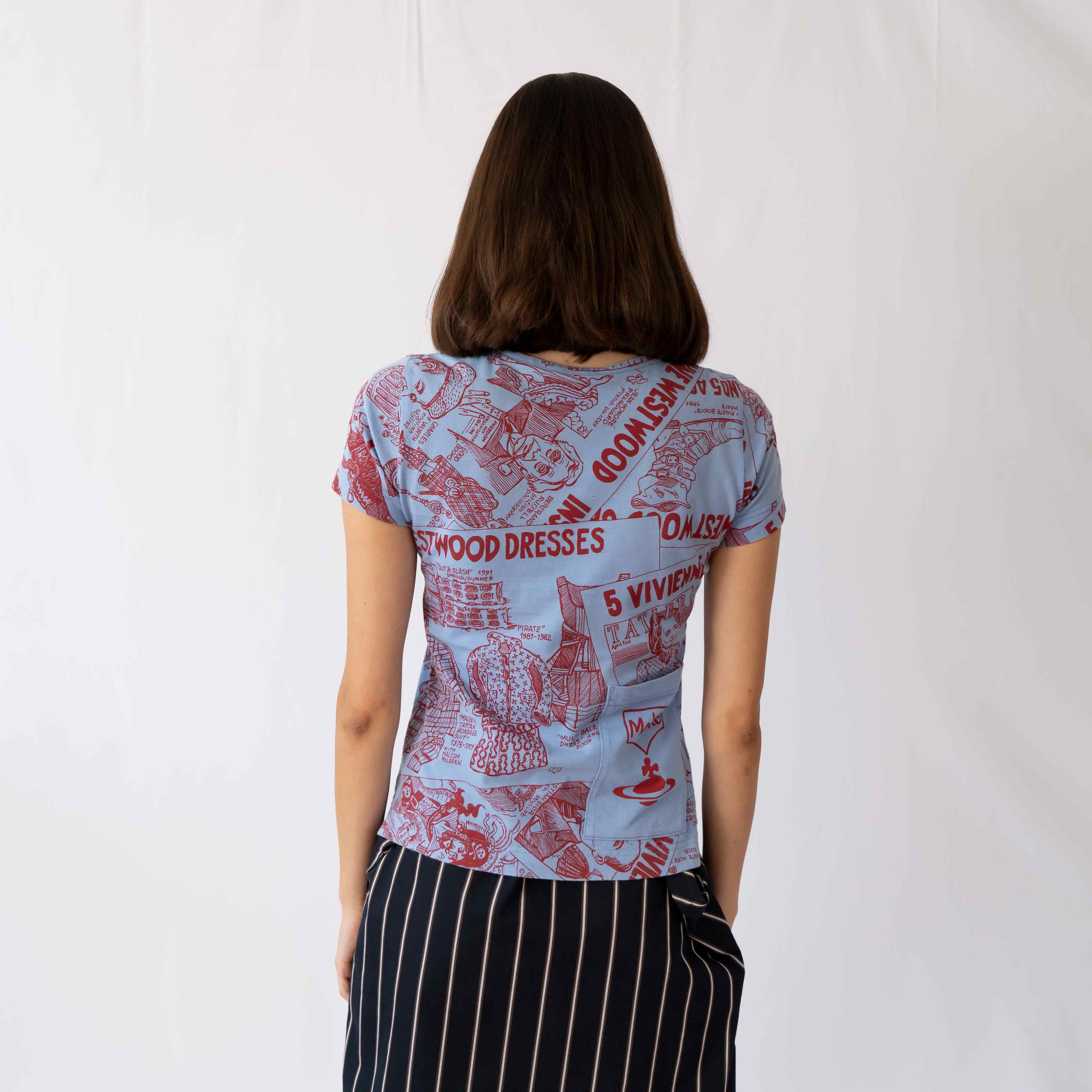 Cool and eclectic, this comic tee is perfect for a lazy day outfit where you still want to look fabulous.