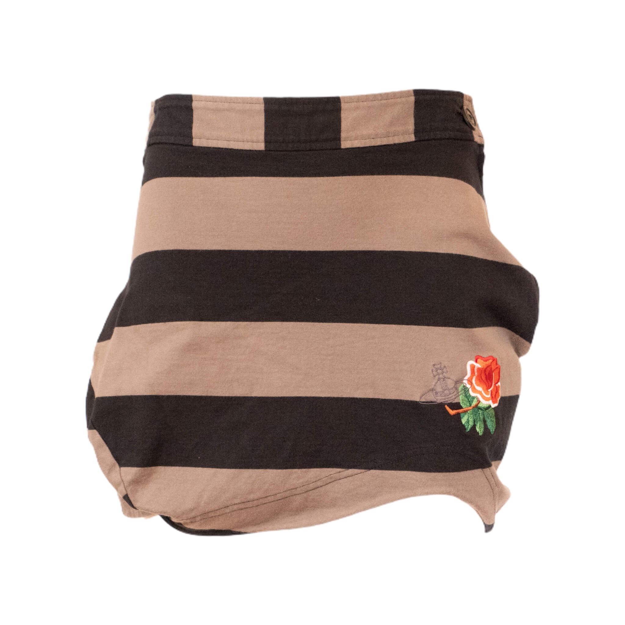 Vivienne Westwood Black Rose Skirt
