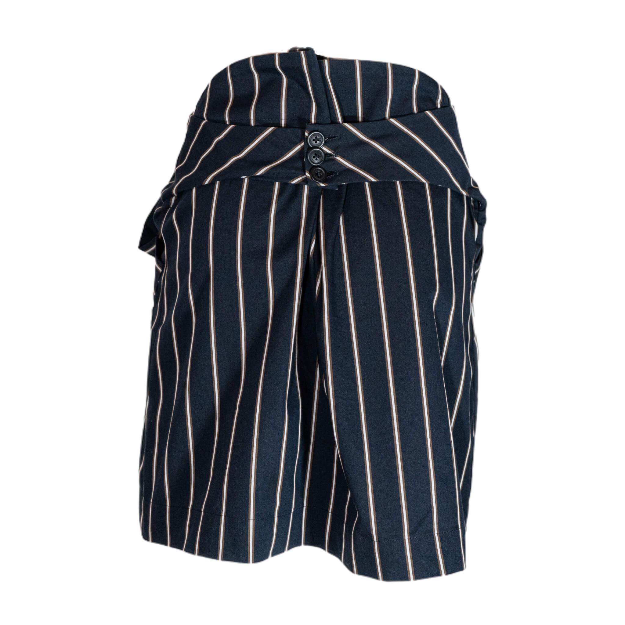 Vivienne Westwood Cutout Strip Skirt