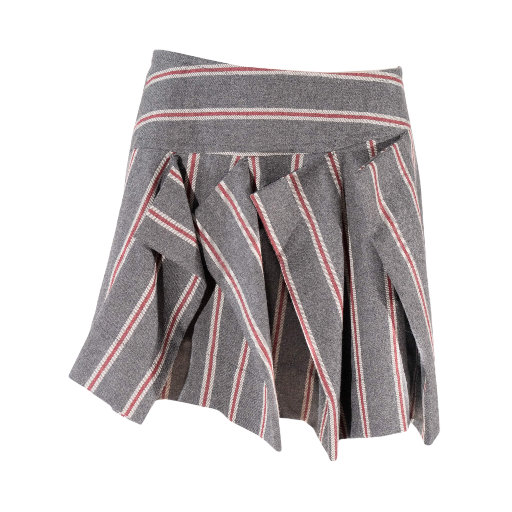 Vivienne Westwood Stripe Wool Skirt