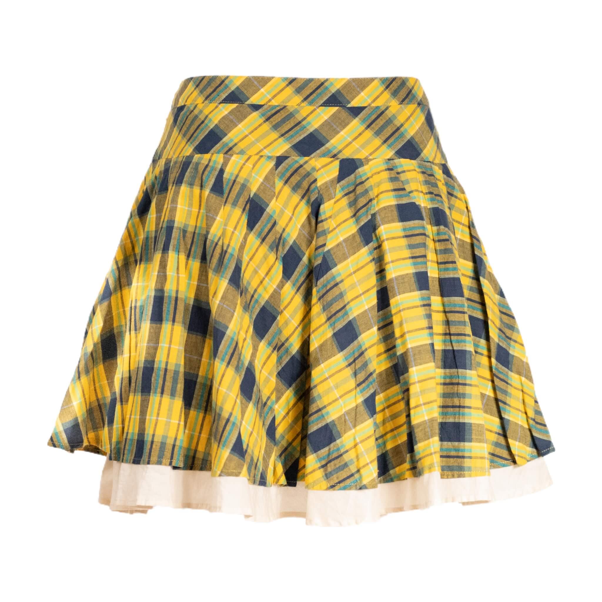 Vivienne Westwood Plaid Attitude Skirt