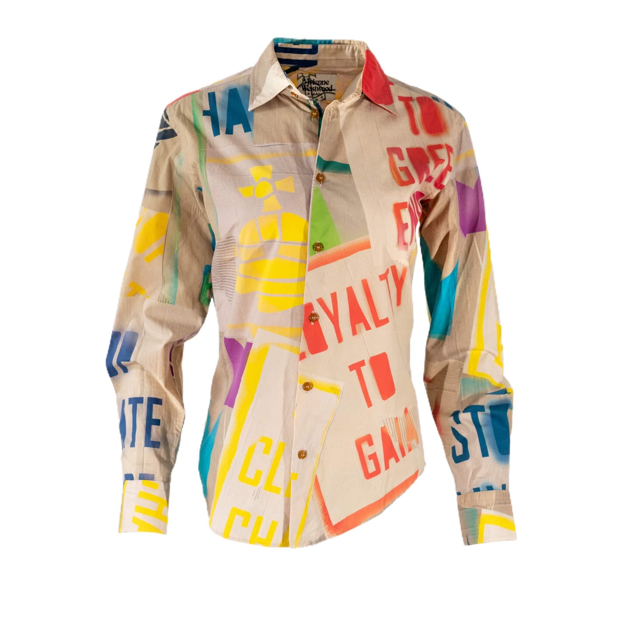 Vivienne Westwood Graphic Button Up