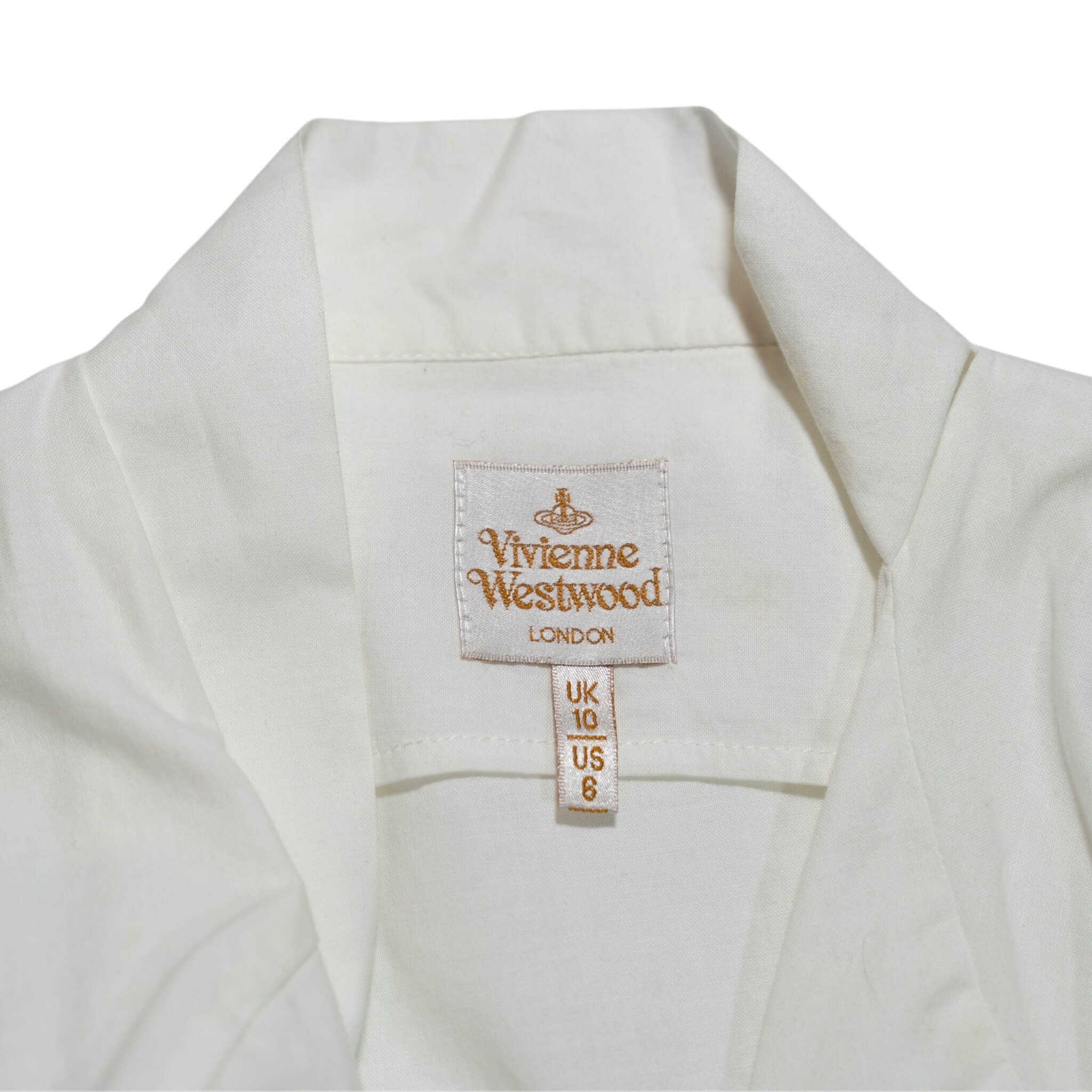 Vivienne Westwood Perfect White Blouse