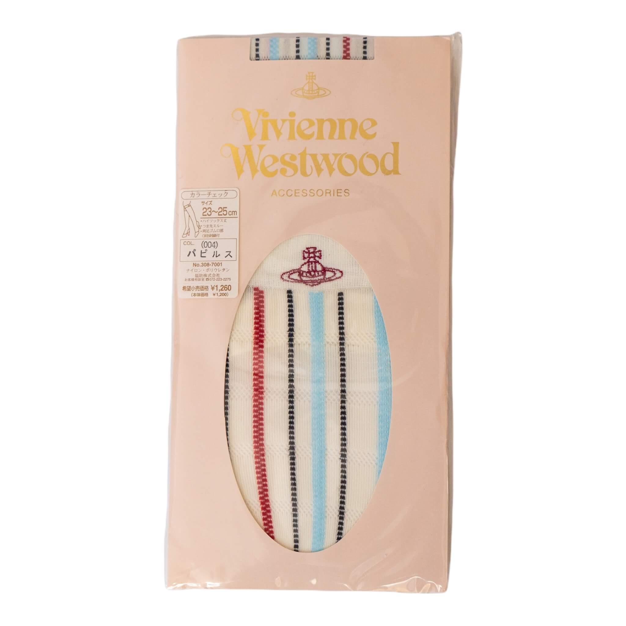 Vivienne Westwood Horizontal Stripe Knee Highs