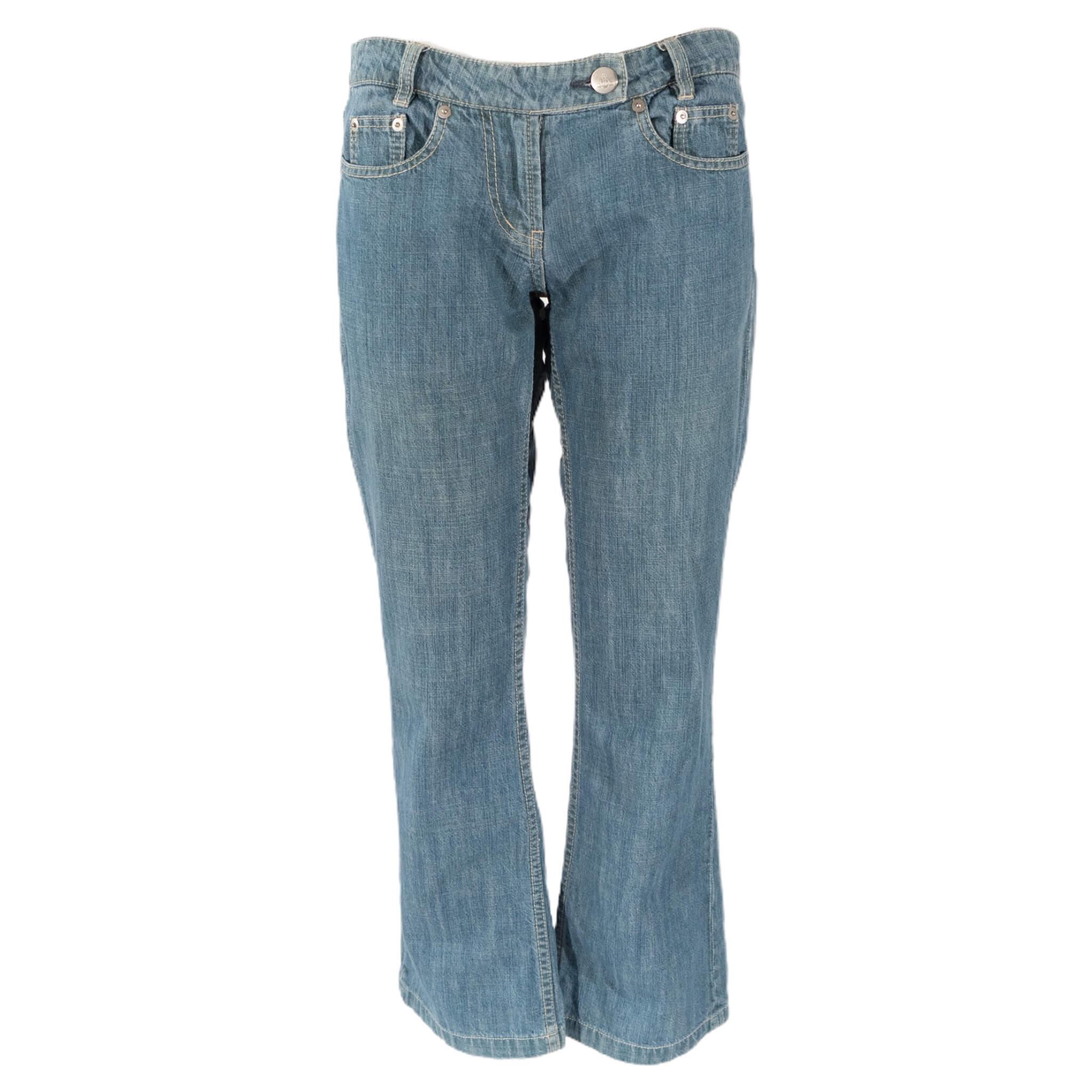 Vivienne Westwood Low Waist Blue Dream Jeans