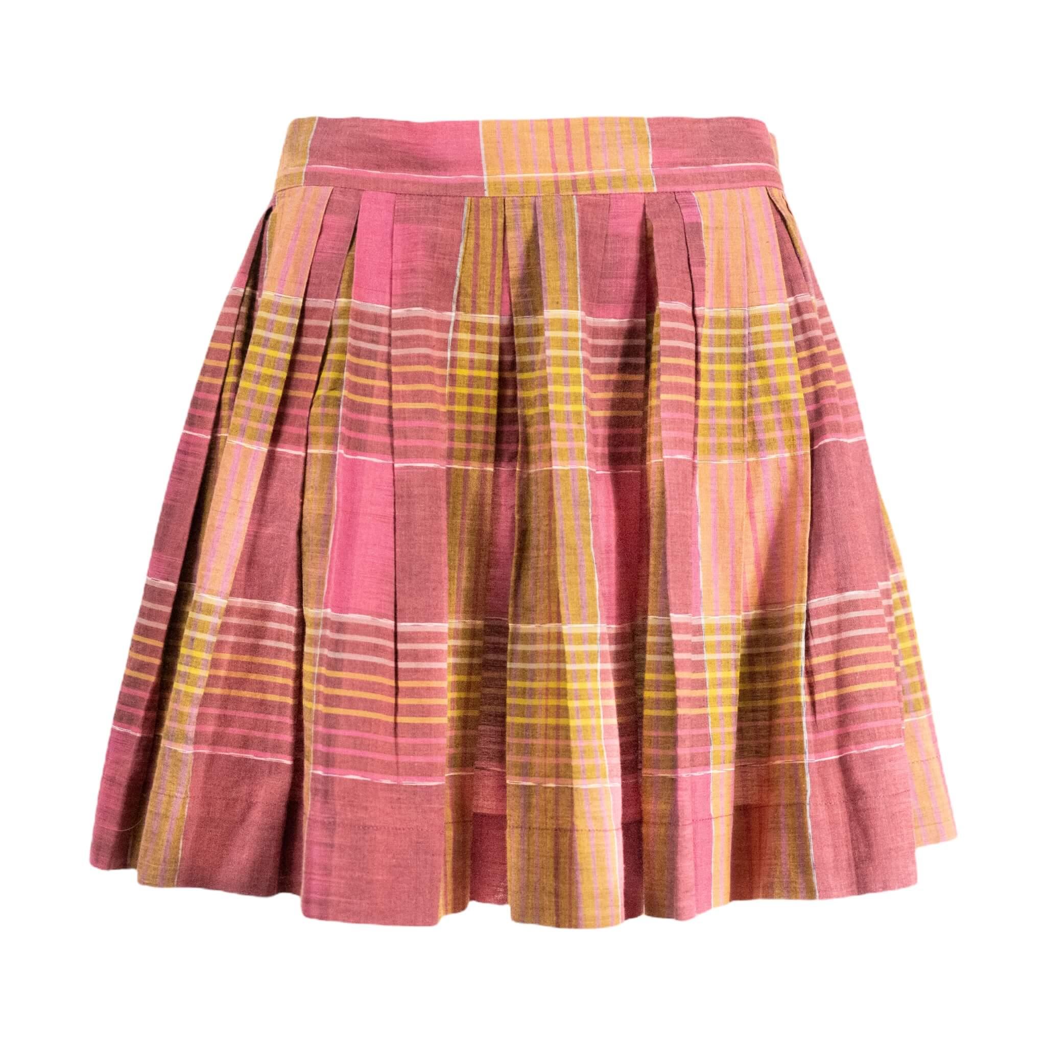 Vivienne Westwood Purple Love Wool Skirt