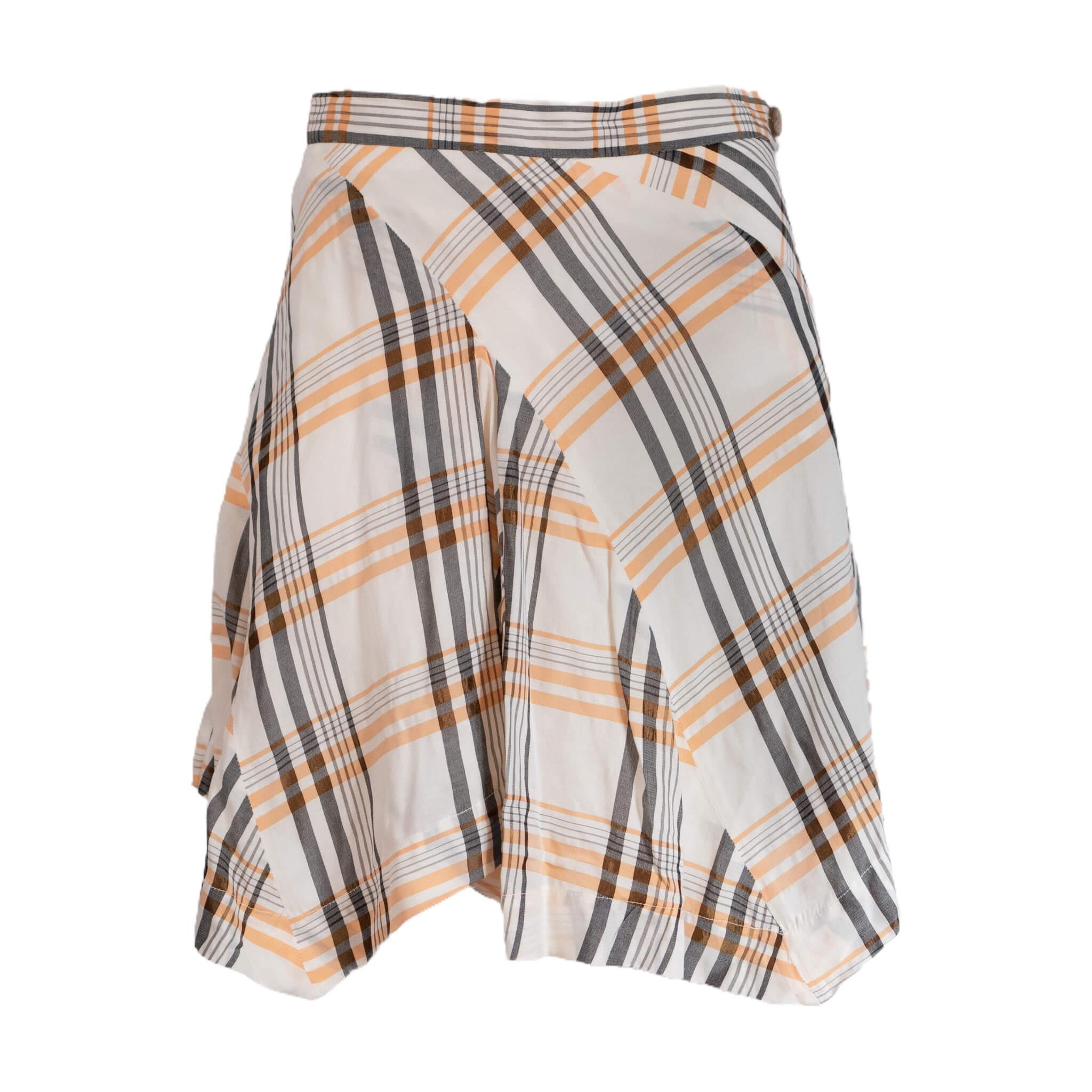 Vivienne Westwood Orange Creamsicle Skirt