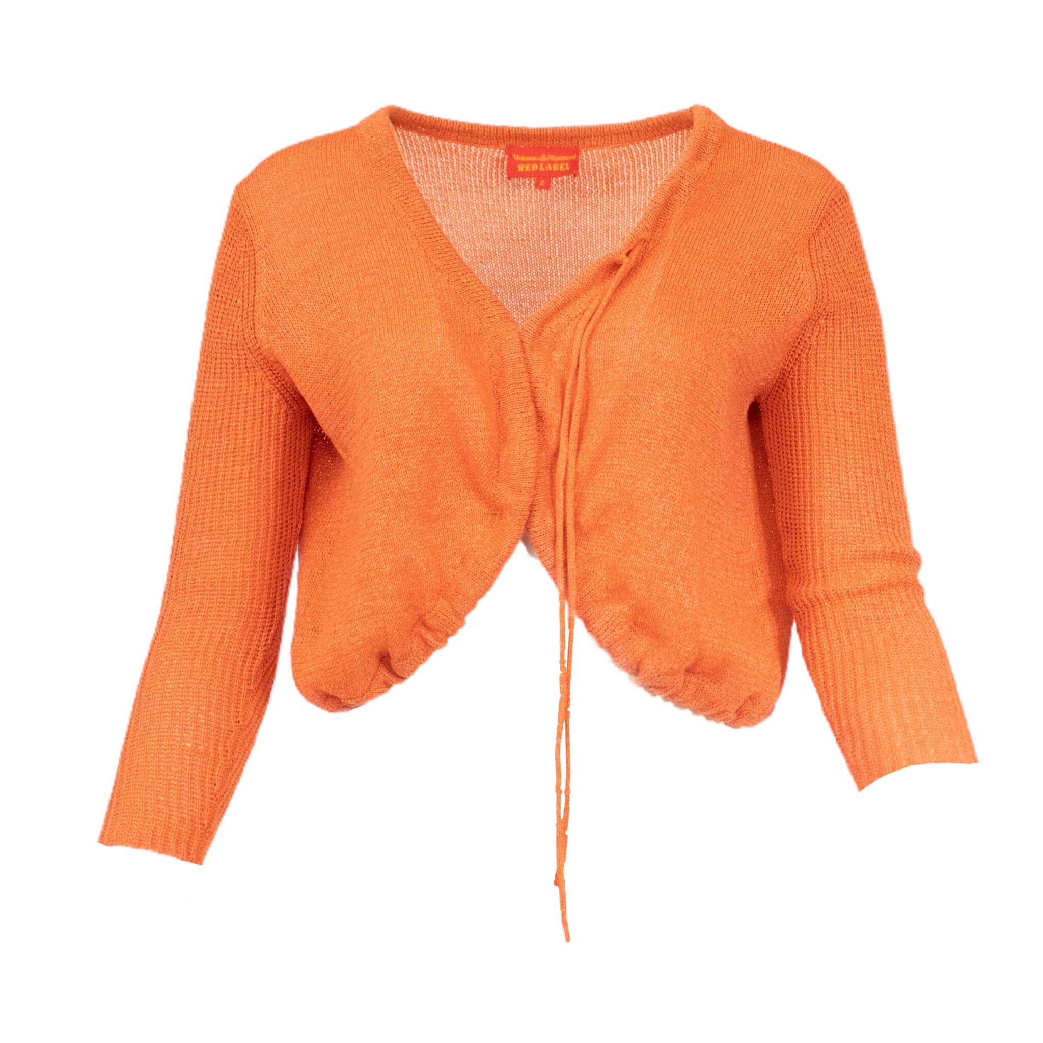Vivienne Westwood Orange Dream Cardigan