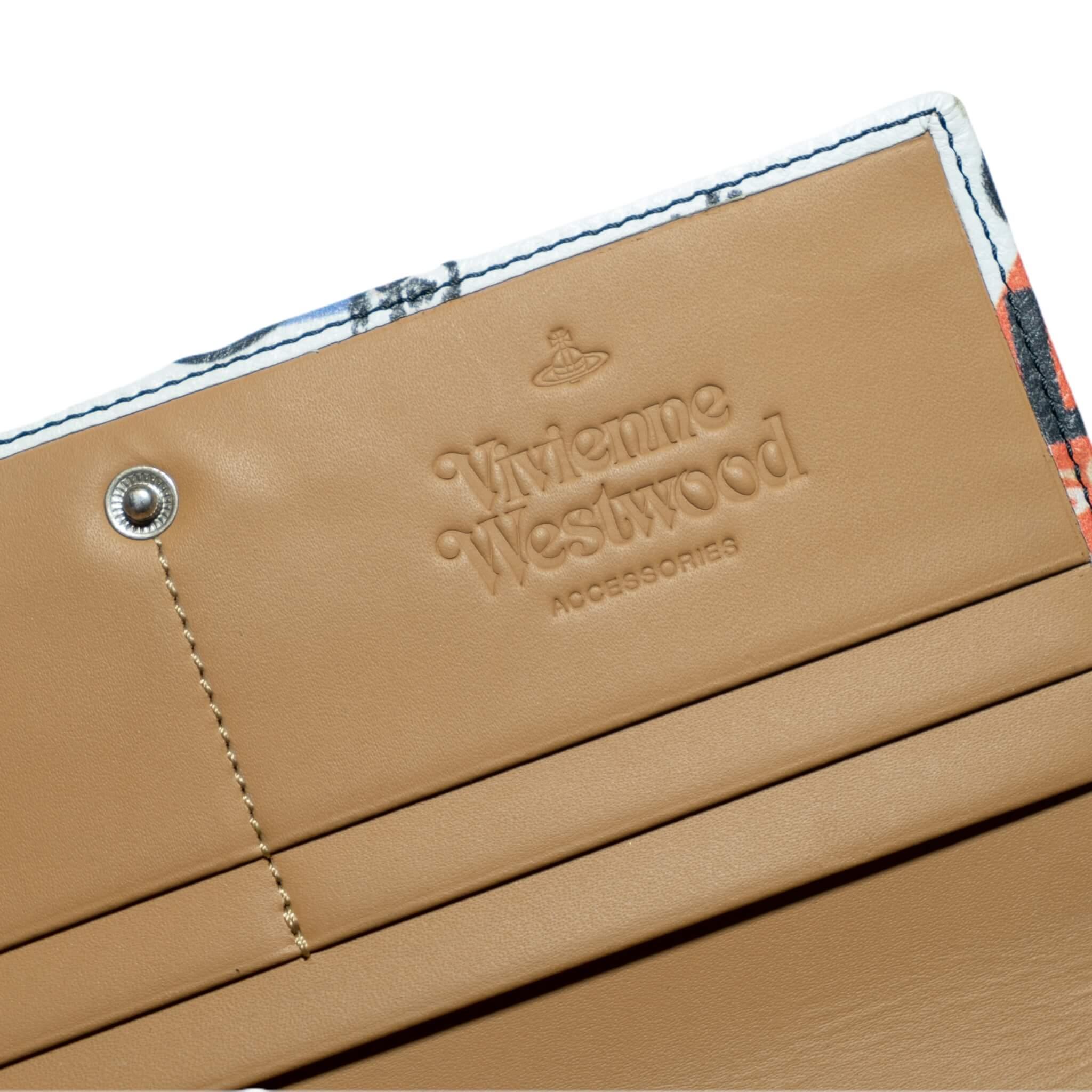 Vivienne Westwood Colorful Cowboy Wallet